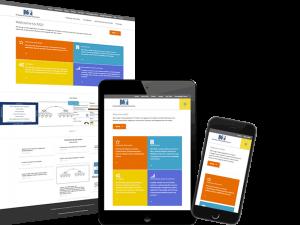 M2i Consulting B2B Website Bespoke Creative Design