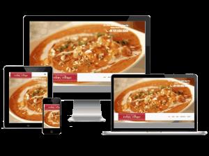 The Great Indian Village Restaurant Indirapuram Website Design