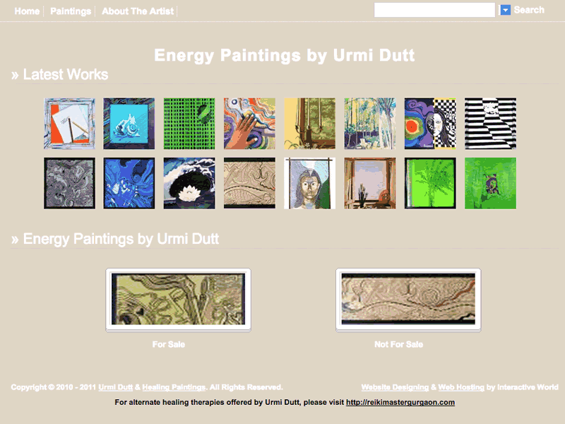 Energy Paintings by Urmi Dutt