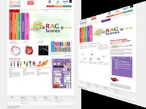RAG Scores Consulting Website Design