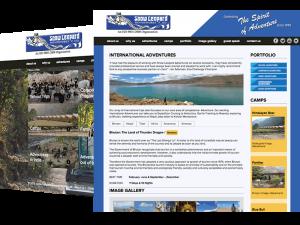 Snow Leopard Adventures Travel Website Design