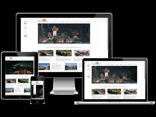 Stayout Adventure Travel Website Design