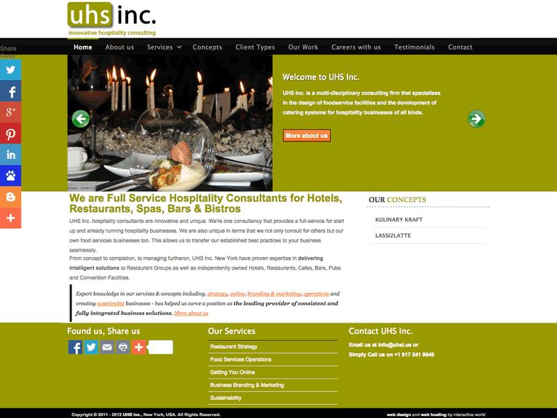 Hospitality Website Design, New York Consulting Website Design, New York Hospitality Website Design, Hospitality Website, New York Consulting Website