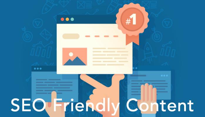 SEO (Search engine optimization) Friendly Content