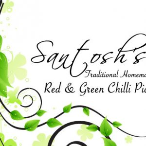 Santosh's Pickles - Label Design