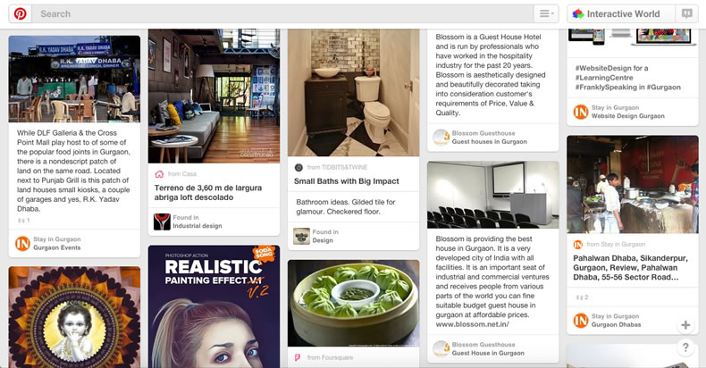 Pinterest for Marketing Visually